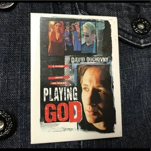 Accessories - 🎦 Playing God Vintage Pin Button Flare 80's 90's